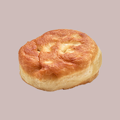 round pastry with white top - 400×400