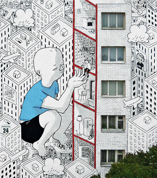Best Street Art in Minsk